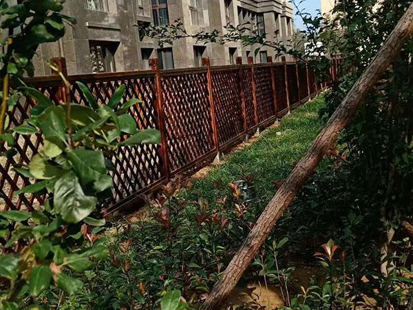 都市森林三期防腐木工程