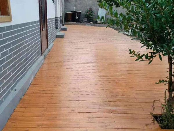 环山路木平台